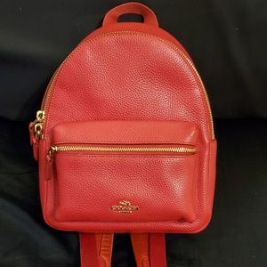 Coach Charlie Mini Backpack Purse